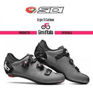 Sapatilha Sidi Ergo 5 Matt Carbon  Giro D' Italia
