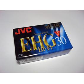 Kit 2 Fita Jvc Vhs-c Compact Vhs - Tc-45 Ehg Hi-fi -