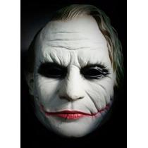 Máscara Joker Coringa Vilão Batman Fantasia Cosplay Latex