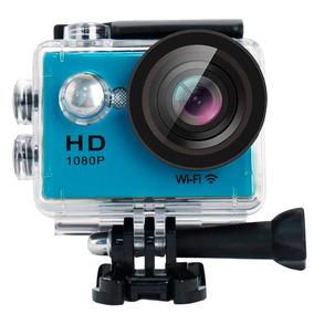 Camara Tipo Gopro 12mp Videos Hd 30 Mts Waterproof Bagc