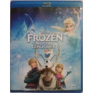 Blu-ray Frozen Uma Aventura Congelante (original E Lacrado)