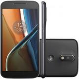 Smartphone Motorola Moto G4 Xt1626 16gb Preto (novo)
