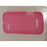 Capinha Rosa Para Motorola Defy Mini/xt320