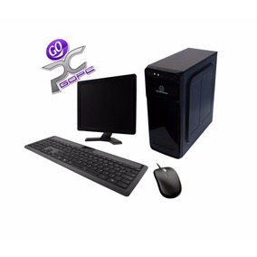 Computadora Oficina 2gb Disco 320gb Hogar Monitor17 Cpu Gopc