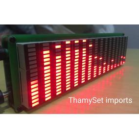 Display Analisador Espectro Led Vermelho 16 Gradiente Aiko