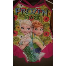 Traje De Baño Frozen Minnie Talla 2 Entero