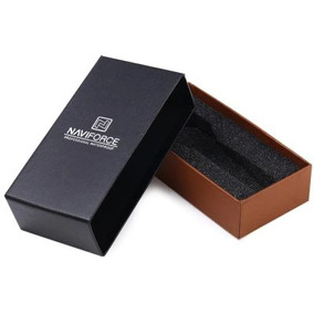 Caixa De Relógio Presente Naviforce Original