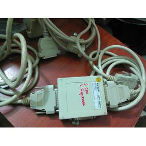 Data Swicht Para Conectar 2 Cpu Y Una Impresora Con Cables