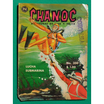 1966 Chanoc Aventuras De Mar Y Selva #350 Comic Herrerias