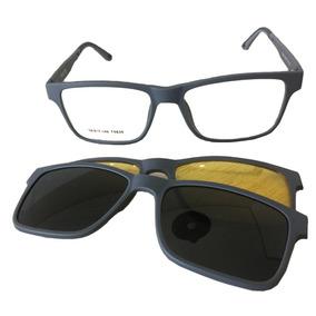 Armação Oculos Com Clipon Masculino - Óculos no Mercado Livre Brasil 988c7c6d37