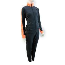 Conjunto Adidas Acetato Mujer Naranja Gris