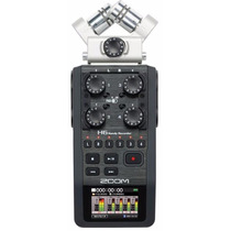 Gravador H6 Zoom Digital Portátil Metrônomo Afinador + Case