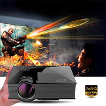 Proyector Unic Wifi 3d Full Hd Led Pro 1080p Hdmi Vga Sd Usb