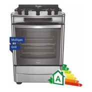 Cocina A Gas Whirlpool Wf360xg Grill 60 Cm Acero Inoxidable