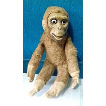 Macaco Pelucia Antigo Raro -tenho Boneca Estrela Antiga