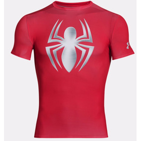Under Armour® Alter Ego Compresion Talla L Spider-man Dhl