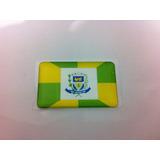 Adesivo Resinado Da Bandeira Da Cidade De Ourinhos (sp) 5x3