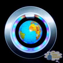 Globo Terraqueo Giratorio Circle Magnetico Giratorio Luz Led