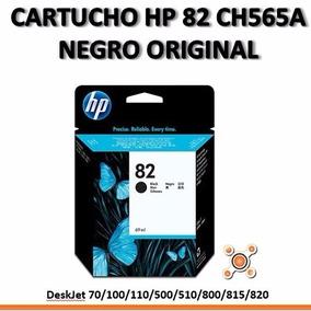 Cartucho Hp 82 Ch565a Para Plotter Dj 500 510 800 Original