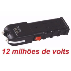 Arma Choque 12 Milhões Volt Taser Lanterna Tatica Original