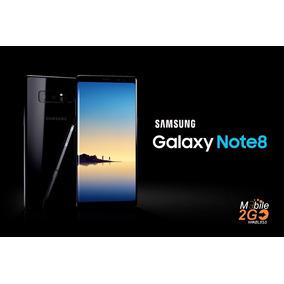 Samsung Galaxy Note 8 4g 64gb Negro Libre Boleta Garantia!!