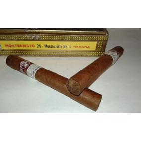 Habanos Montecristo No 4 Cubanos Caja De 25 Habanos
