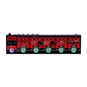 Pedaleira Mooer Red Truck Multi Efeitos Guitarra Cpt1 + Nfe