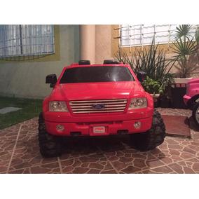 Camioneta Power Whells Roja Ford F-150