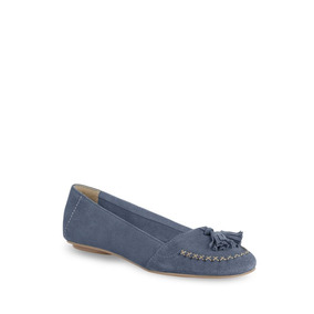 Flat Loafer Mujer Azul 2567587