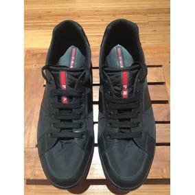 Zapatos negros Prada para hombre 3Sp6YU9bl