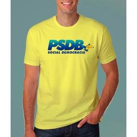d04c37f33f Camiseta Psdb Partido Da Social Democracia Brasileira