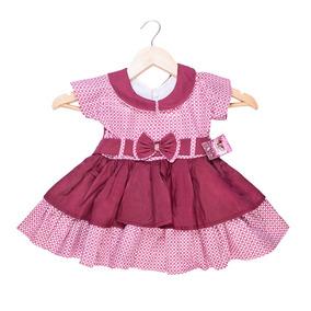 Kit 5 Vestido Festa Menina Infantil Floral Princesa Atacado