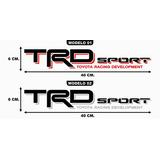 Calcomanias, Calcas Trd Sport Y Trd Off Road