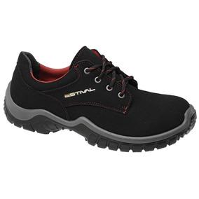 Sapato De Segurança Microfibra Estival Work Energy Comfort
