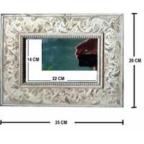 Espelho Com Moldura - Ornato Rústico - 35x26 Cm - 50% Off!!!
