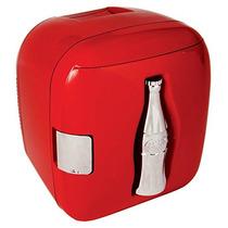 Coca-cola Ccu09 Cubo Enfriador De Botellas, Rojo