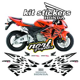 Calcomanias Stickers Honda Cbr 600 Rr Tribal Halloween