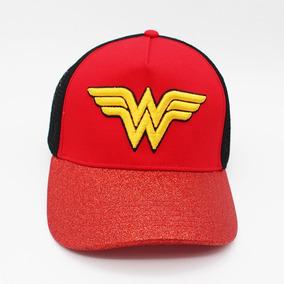 Gorra Wonder Woman Snapback Mujer Maravilla