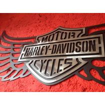 Harley Davidson Logo Letrero Emblema Placa