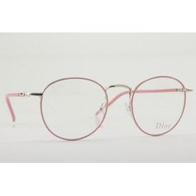Óculos Redondo Sem Grau Dior - Óculos no Mercado Livre Brasil 4b1e53f1f1