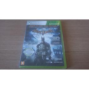 Jogo Xbox 360 Batman Arkham Asylum - Produto Orig. Lacrado