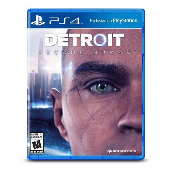 Detroit Become Human Ps4 Juego Original Fisico Sellado