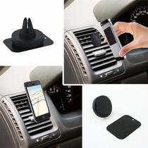 Magnetic Air Vent Mount Para Celular Tablet E Gps