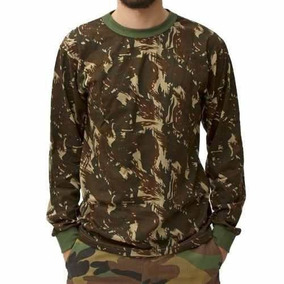 Camiseta Manga Longa Camuflada G - Treme Terra