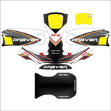Adesivos Kart - Birel Bravar Black Edition Exclusivo