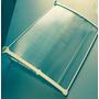 Cobertura Alumínio/policarbonato Suporte Branco Ou Preto