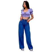 Calça Jeans Feminina Super Destroyed Hot Pant Promoção
