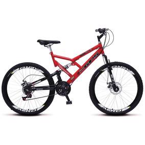 Bicicleta Colli Aro 26 Dp Suspensão Freios Á Disco - 220.16