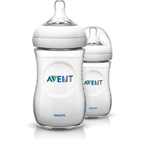 Avent - Biberon Natural 260ml U 8 Oz Pack X 2 Unid.