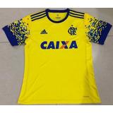 Camiseta Suplente Flamengo Brasil 2017 2018